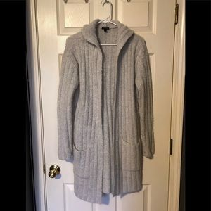 Express long hooded sweater, size XS